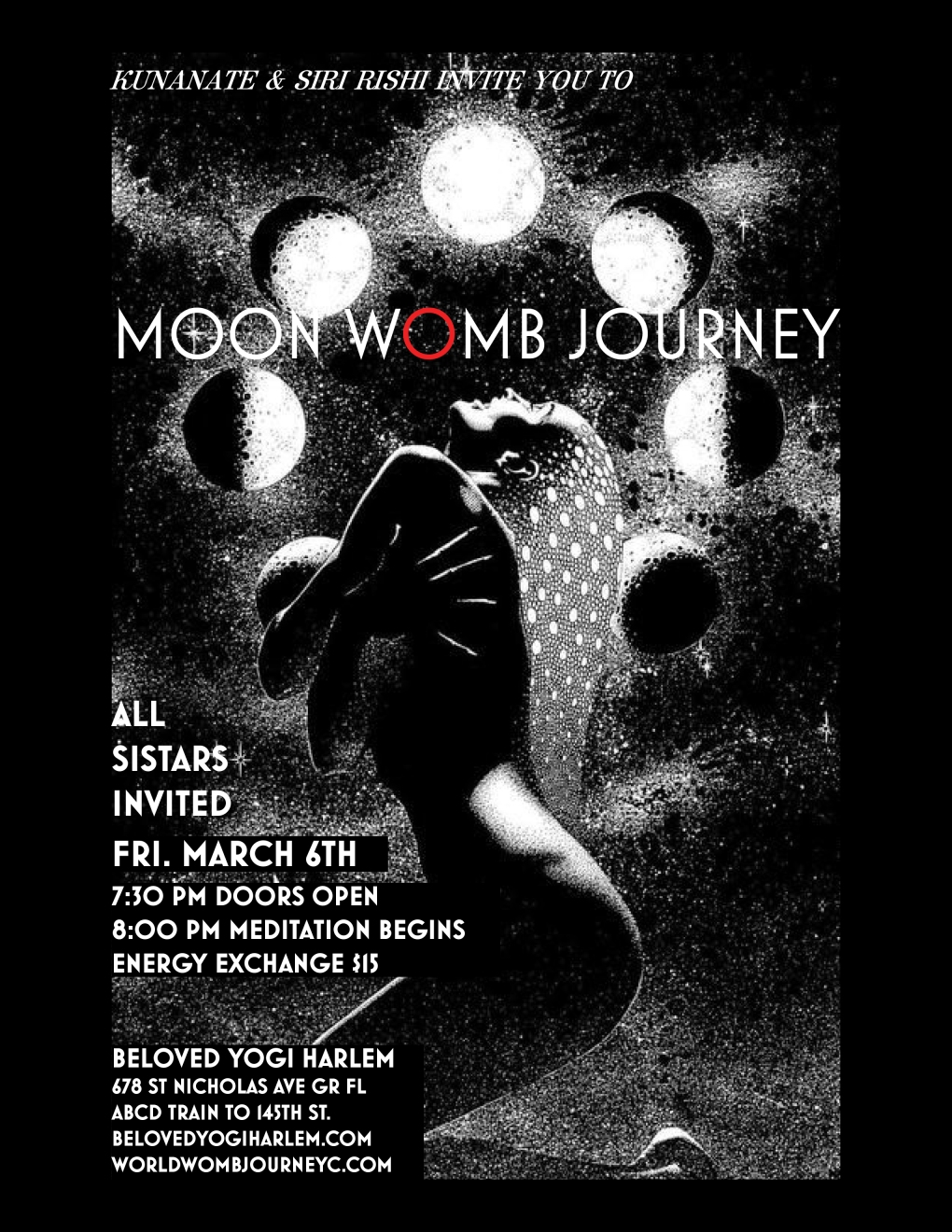 MARCH MOON WOMB